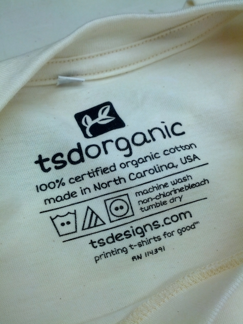 TSDOrganic Neck Label