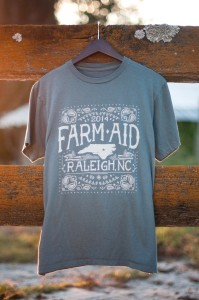Farm Aid shirt pic for press release