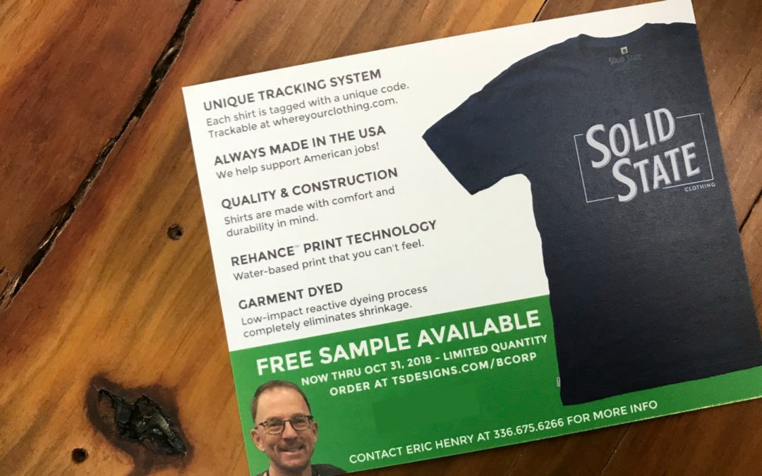 BCorp – Get your Solid State T-Shirt!
