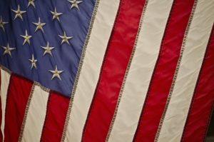 US flag representing local community engagement
