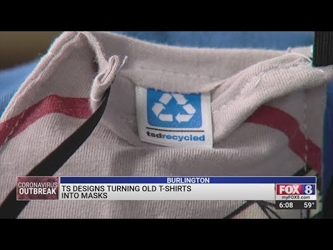 FOX 8 NEWS: TS Designs Makes Upcycled Face Coverings